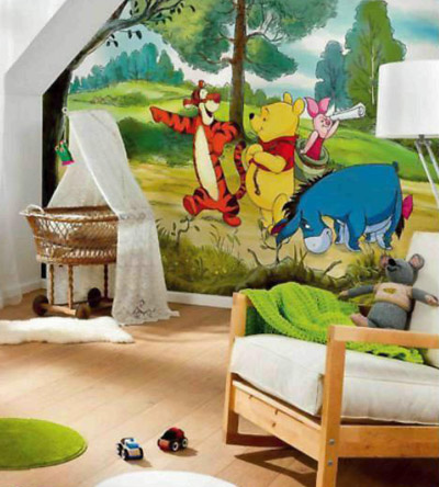 Фотообои в детских комнатах