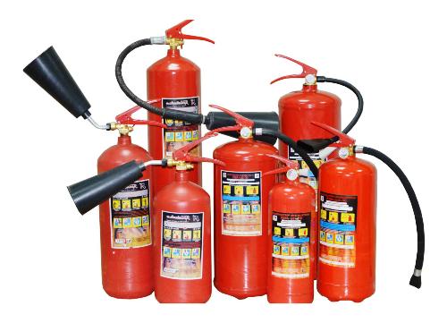Виды огнетушителей и их применение