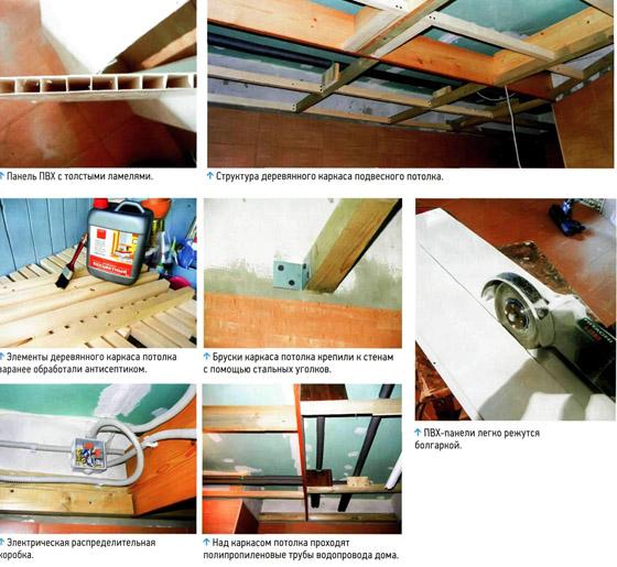 Панели ПВХ хорошо зарекомендовали себя при отделке помещений с повышенной влажностью.