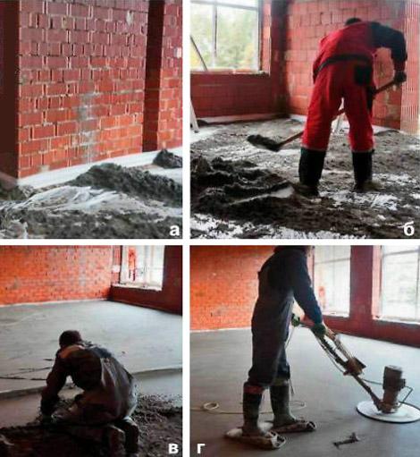 Застройщики привыкли к тому, что под словом «стяжка» подразумевается полужидкий цементный раствор, который довольно трудно уложить так, чтобы обеспечить идеально ровное основание.