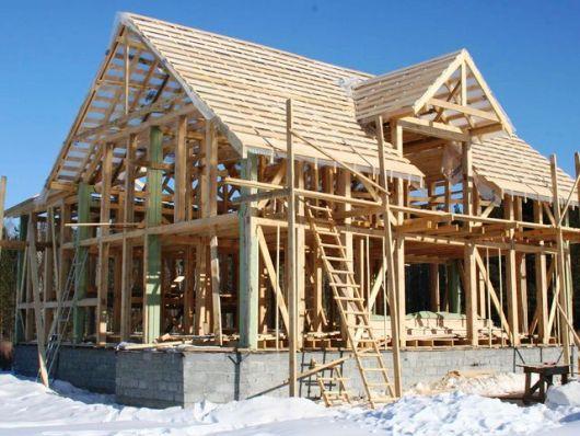 Каркасные дома под ключ — организация строительства