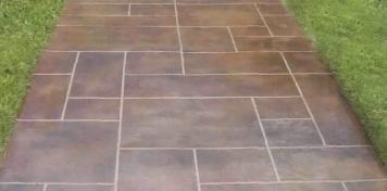 Декоративные цементно-полимерные покрытия