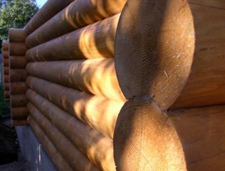 Деревянные стены и перегородки